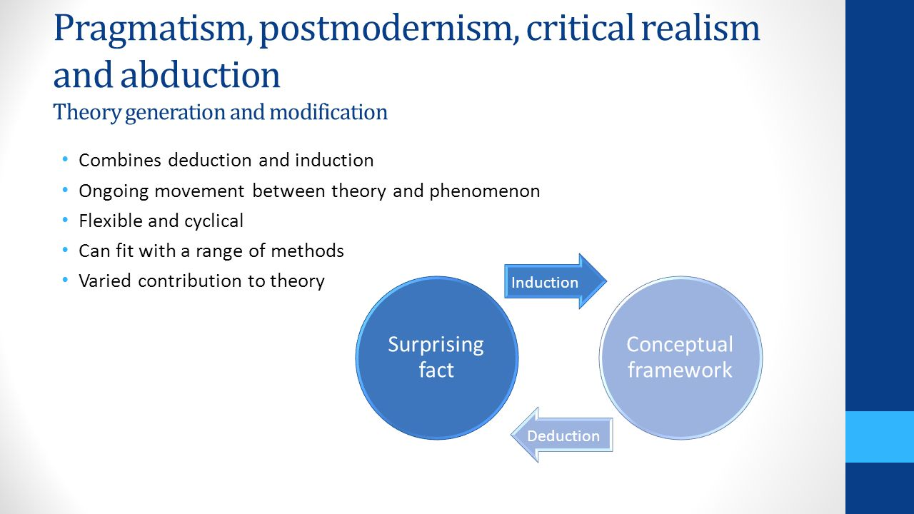 thesis critical realism As stated, the thesis begins by presenting and critiquing critical realist philosophy  and morphogenetic theory it then applies this philosophy and theory in.