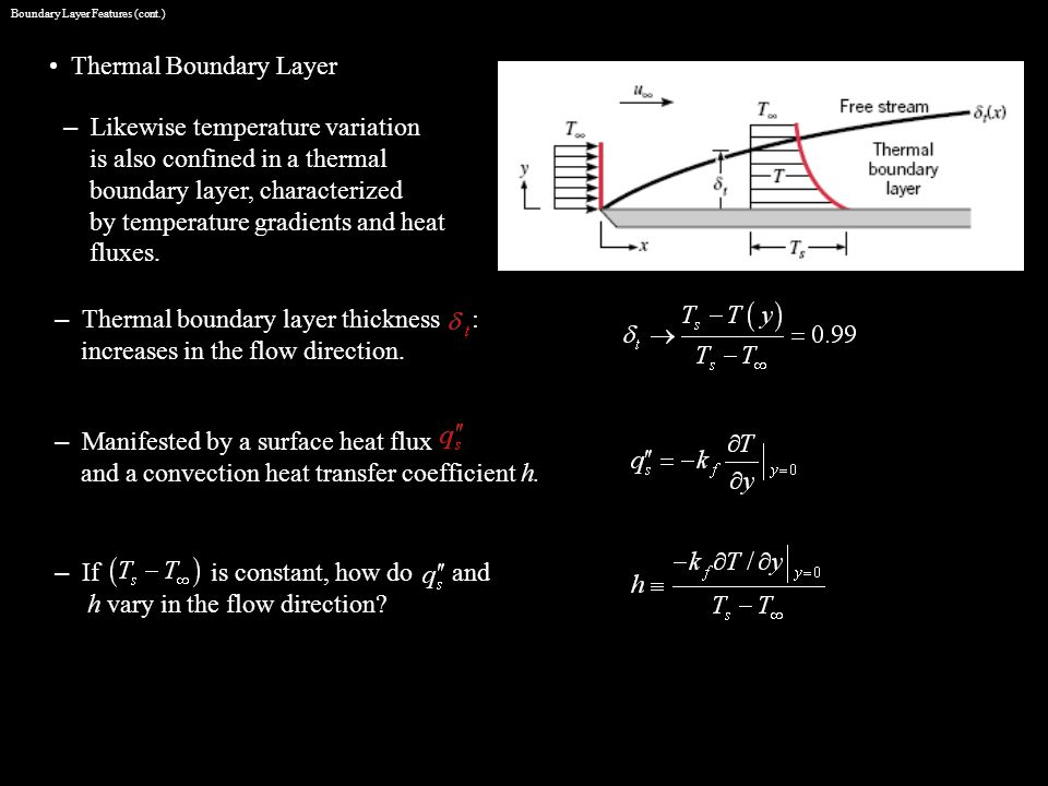 Boundary Layer Features (cont.)