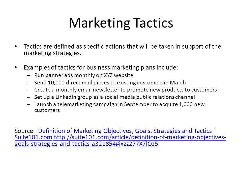 Marketing objectives how to set 100 images how to for Set up meaning