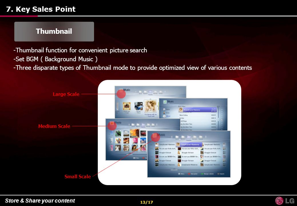 7. Key Sales Point Thumbnail