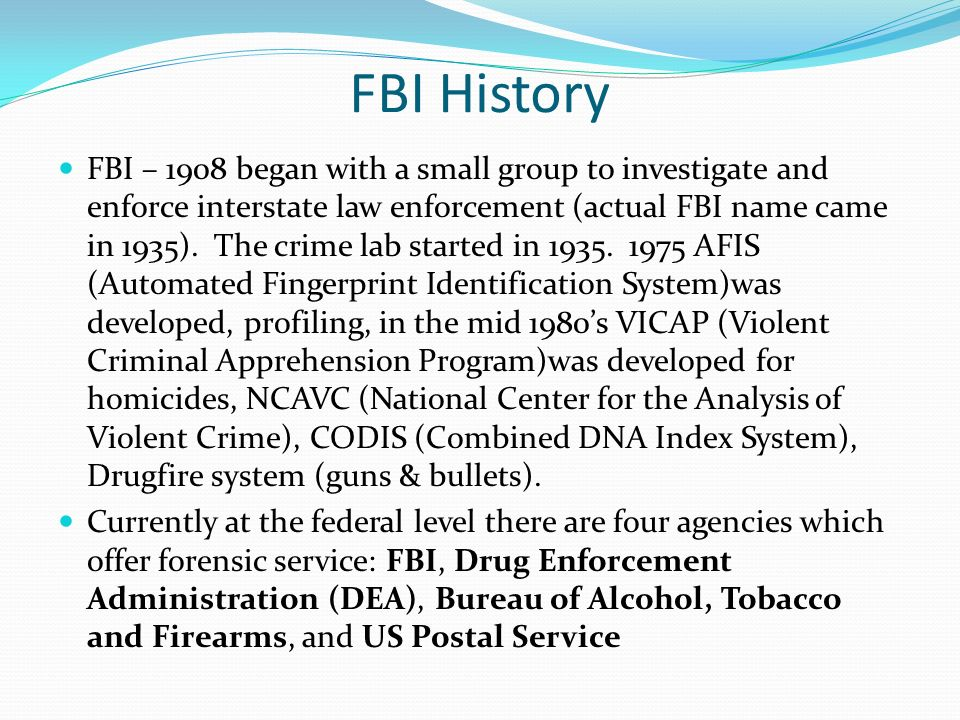 an introduction to the bureau of alcohol tobacco and firearms The bureau of alcohol, tobacco, firearms and explosives is known as the 'atf' the atf is a law enforcement agency in charge of criminal organizations, acts of terrorism and many other areas.