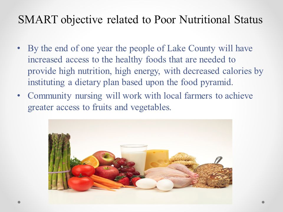 Community plan of care group project obesity and - Healthy people 2020 is a plan designed to ...