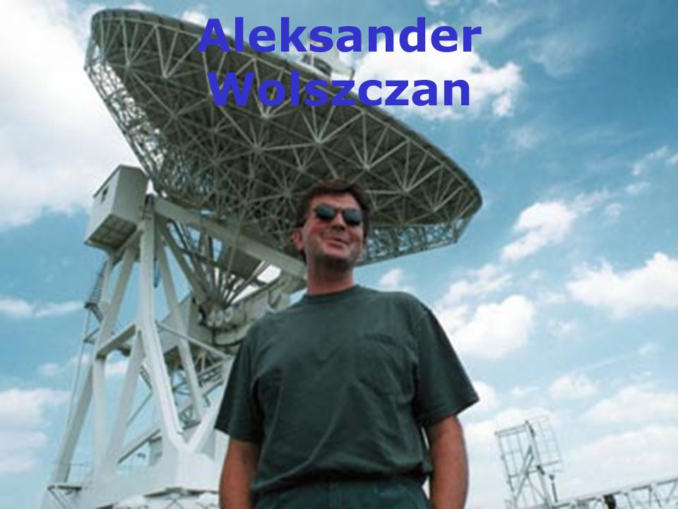 Aleksander Wolszczan