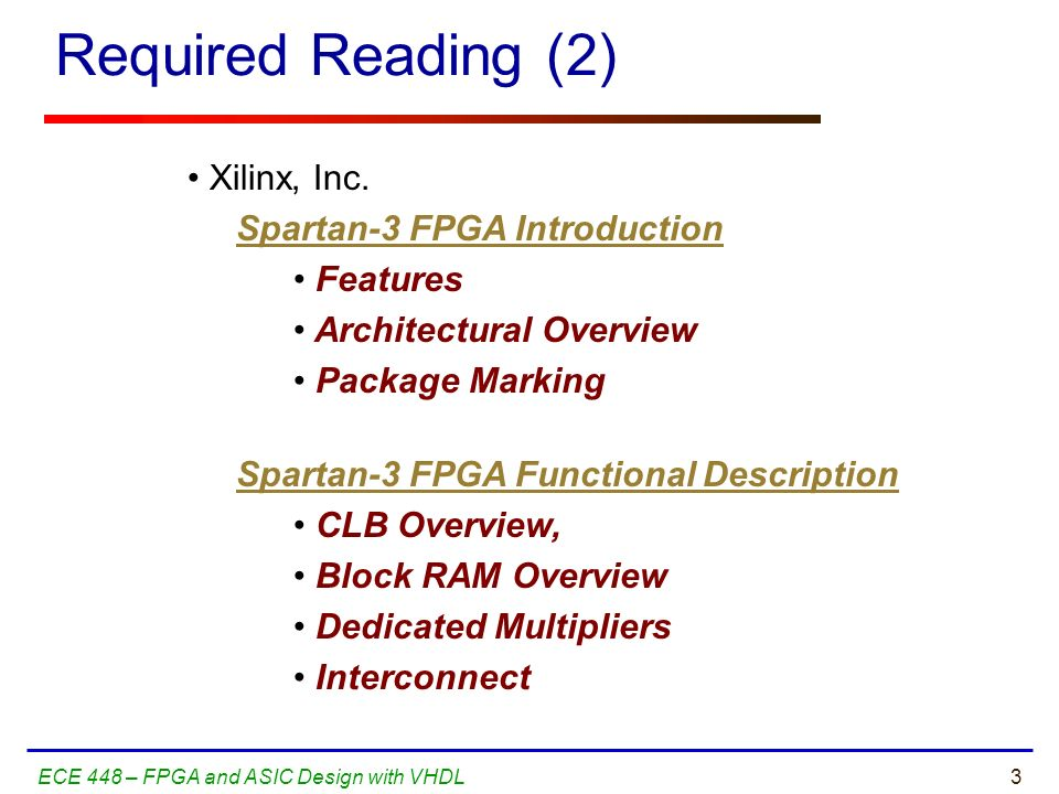 introduction to fpga design pdf