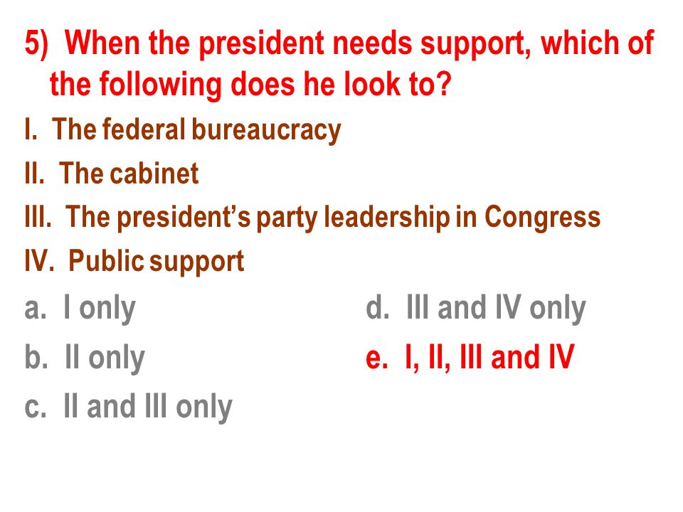 Review Part 7 The Presidency. - ppt video online download