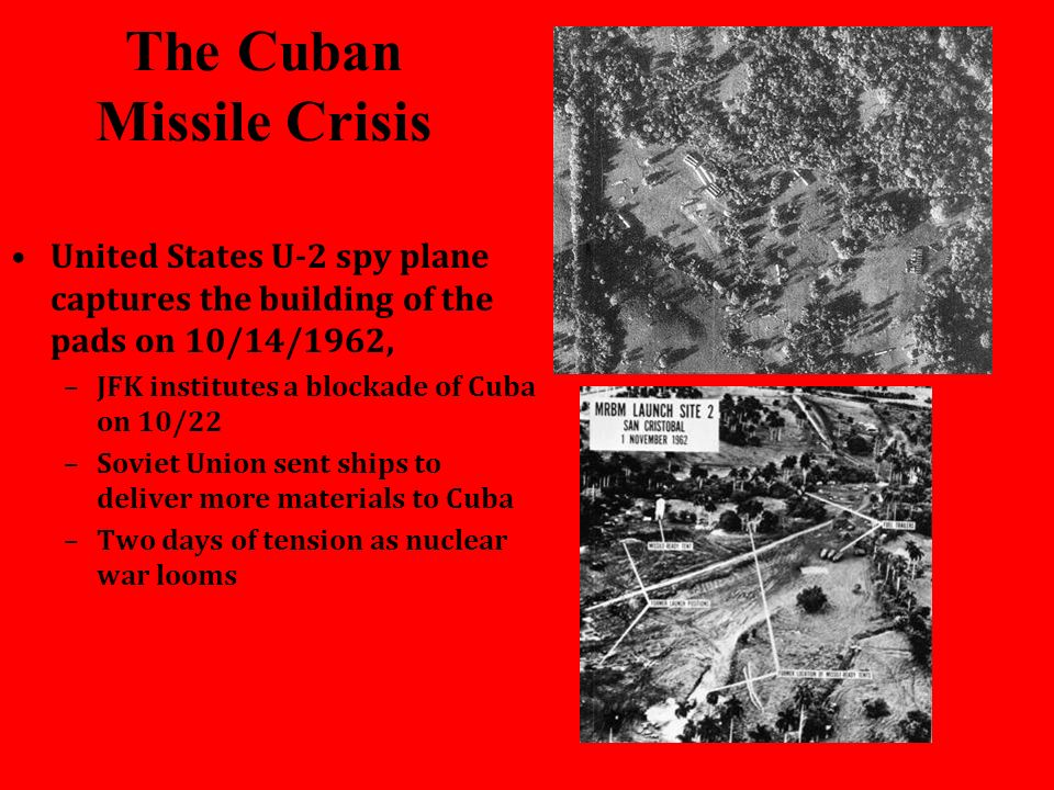 the cuban missile crisis and the conflict between the united states and the soviet union In the current issue of political science quarterly, montague kern observes that the cuban missile crisis is one of those full-bore crises in which an ideological enemy (the soviet union) is.