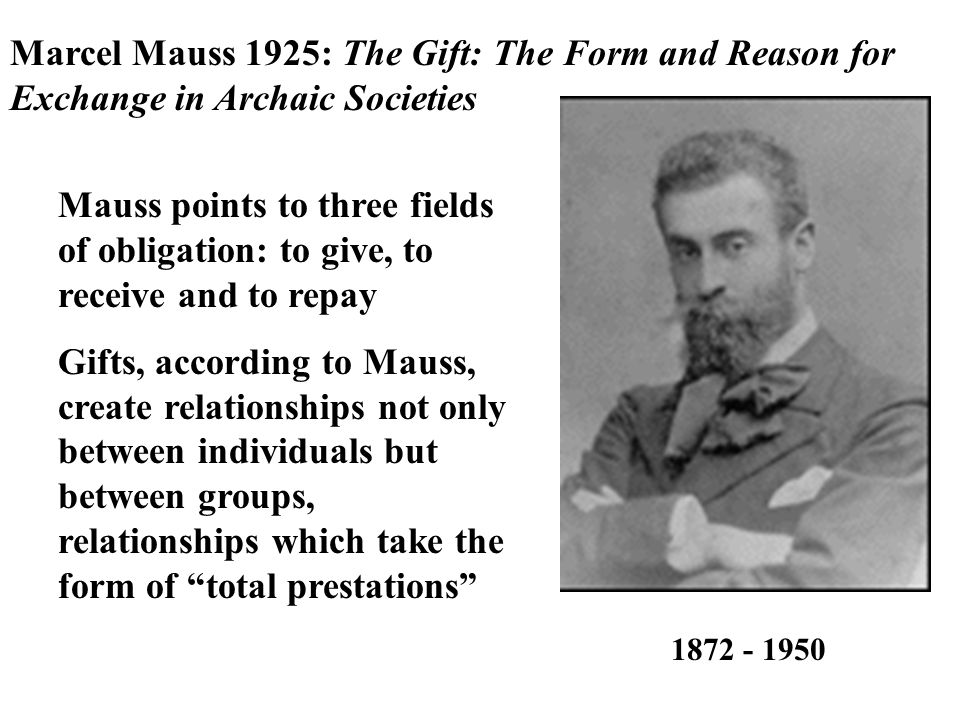 marcel mauss the gift Marcel mauss detailed the gift exchange and body techniques.
