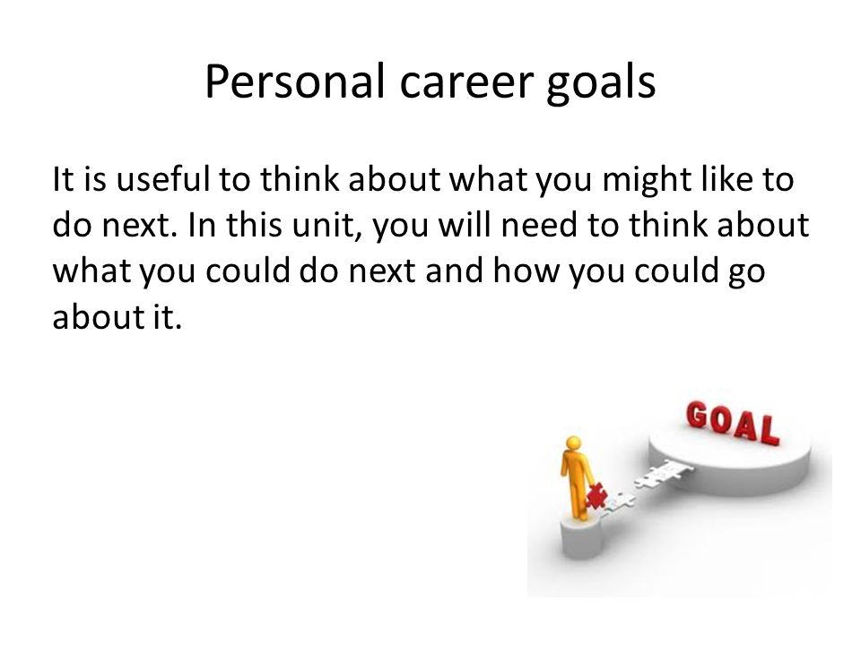 a discussion of setting and achieving personal goals We all know that 'goal setting' is very important, but please  all too often when  people talk about setting goals they are actually talking about.