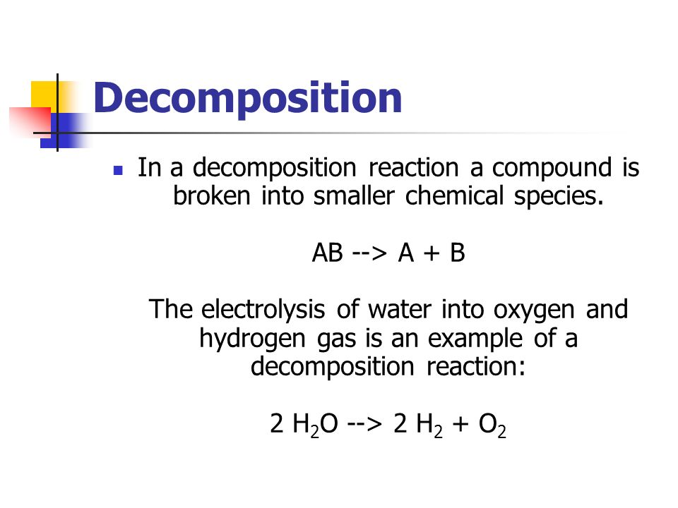 types of chemical reactions with examples pdf