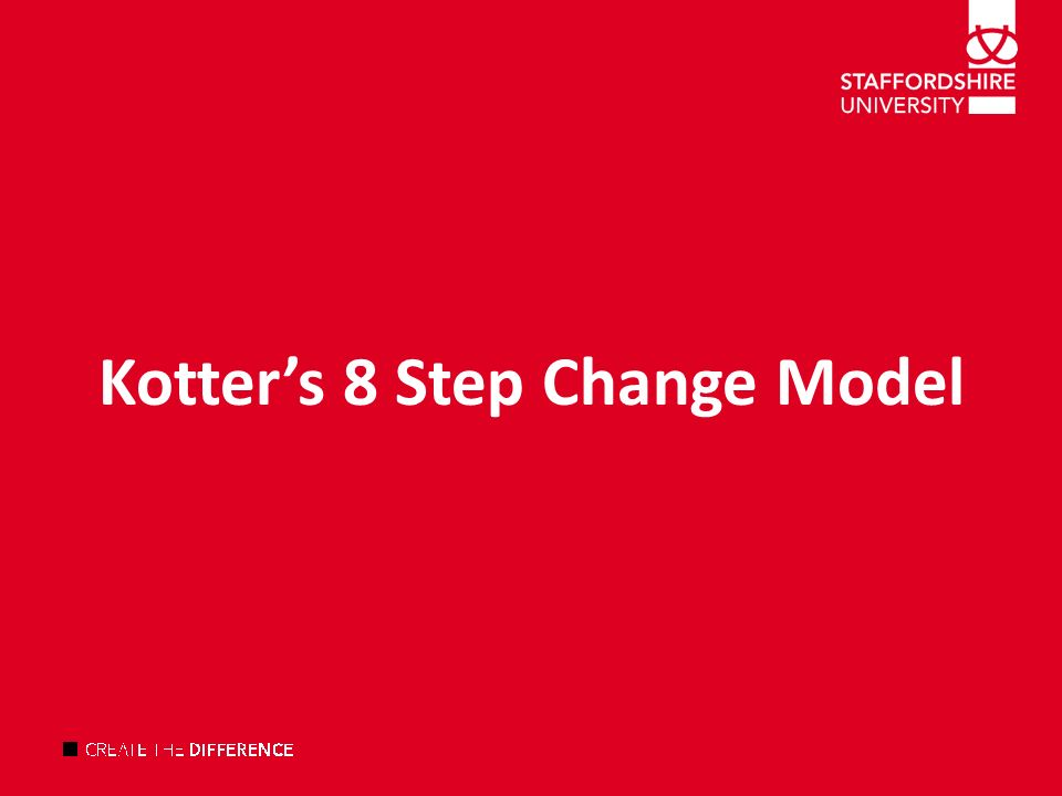 adkar model and kotter s 8 step change model Which change model should you pick  , kotter's 8 step model, kubler-ross change model, kurt lewin, leading change  we'll have to take a look at adkar too.
