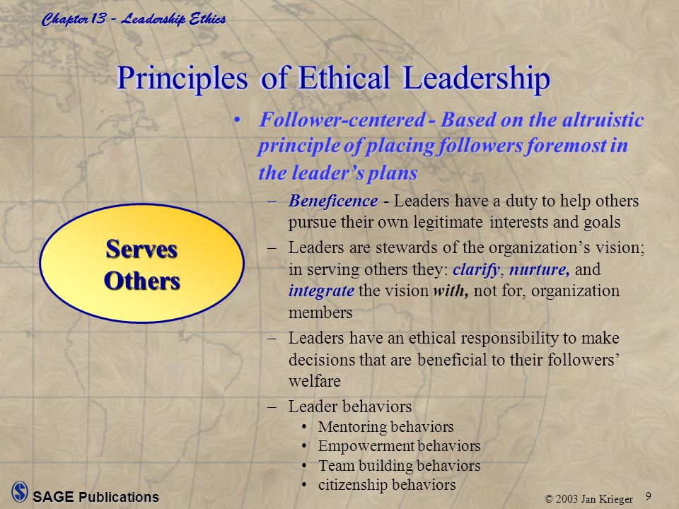 ethical goal Four fundamental ethical principles (a very simple introduction) the principle of respect for autonomy autonomy is latin for self-rule we have an obligation to respect the autonomy of other persons, which is to respect the decisions made by other people concerning their own lives.