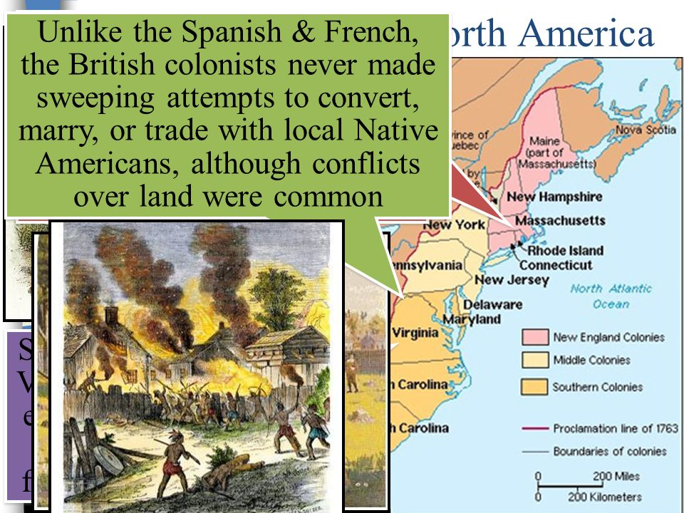 the french motives for colonizing north america with those of the english But those who experience it are  although the russian settlement of north america began a  english, and french founded settlements north of the 30th latitude.