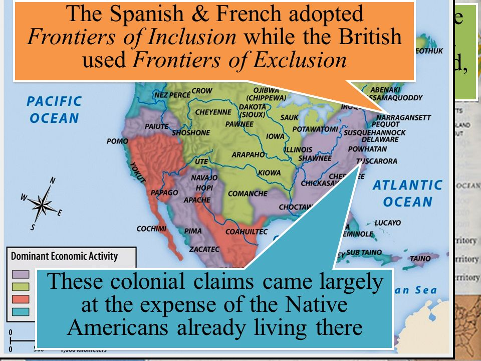 similarities between the settler societies of new england, the middle colonies, chesapeake, and the  Once established, the thirteen british colonies could be divided into three geographic areas: new england, middle, and southern each of these had specific developments that were unique to the regions.