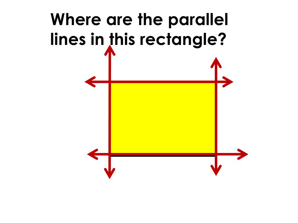 how to show lines are parallel