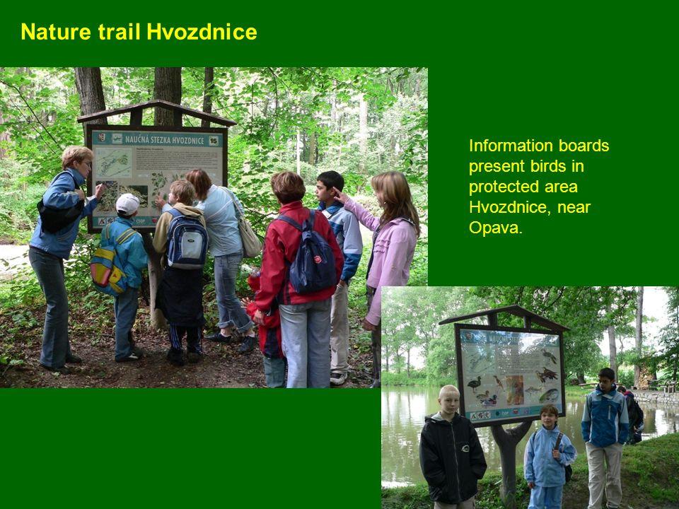 Nature trail Hvozdnice