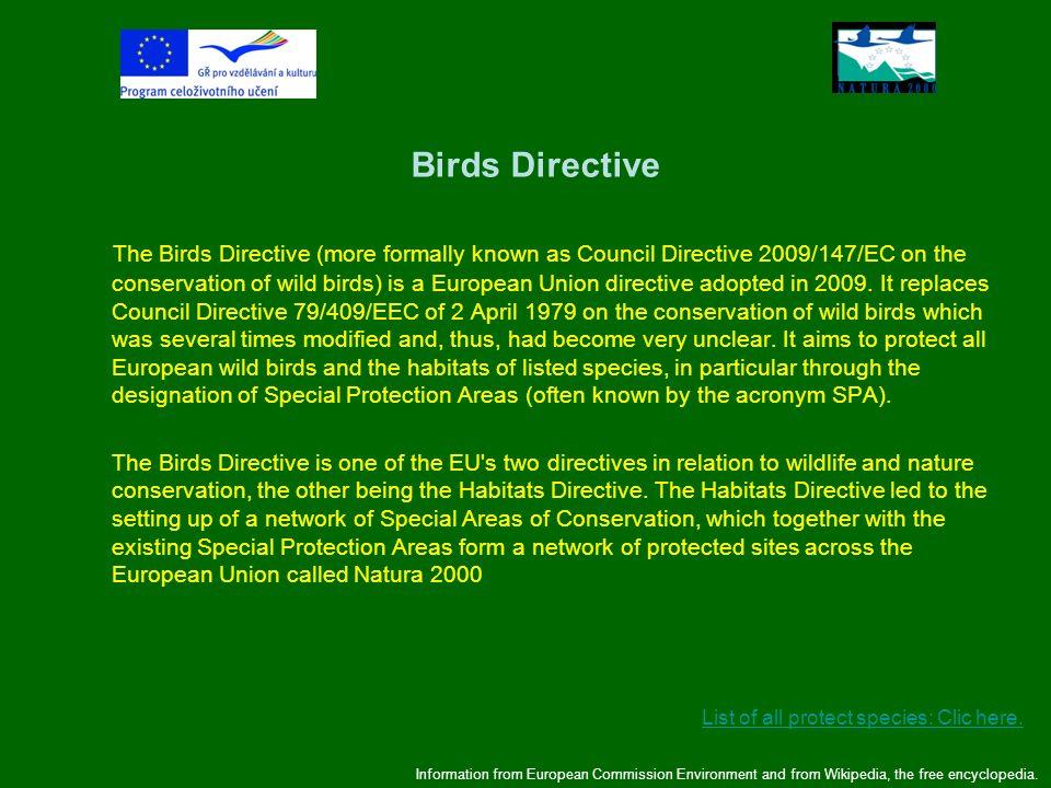 Birds Directive