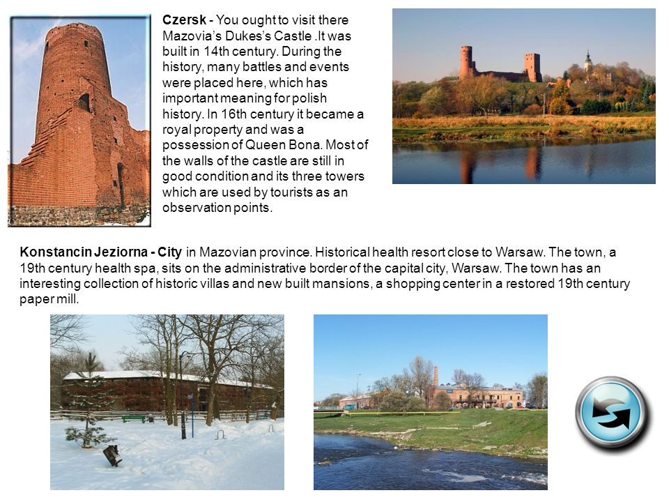 Czersk - You ought to visit there Mazovia's Dukes's Castle