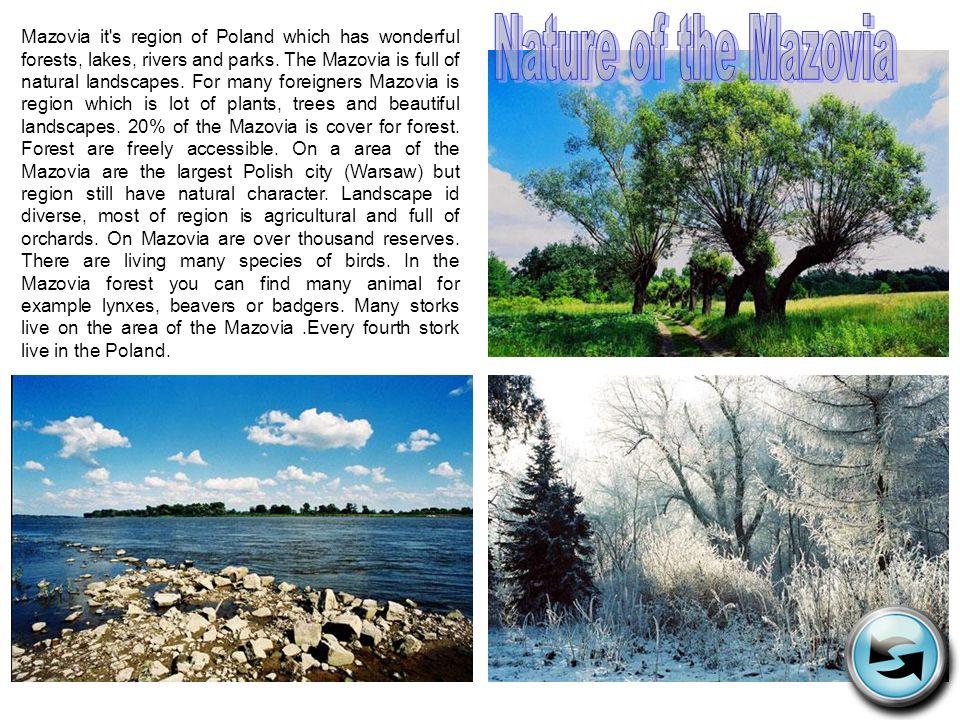 Nature of the Mazovia