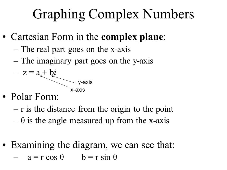 Complex Numbers in Polar Form - ppt video online download