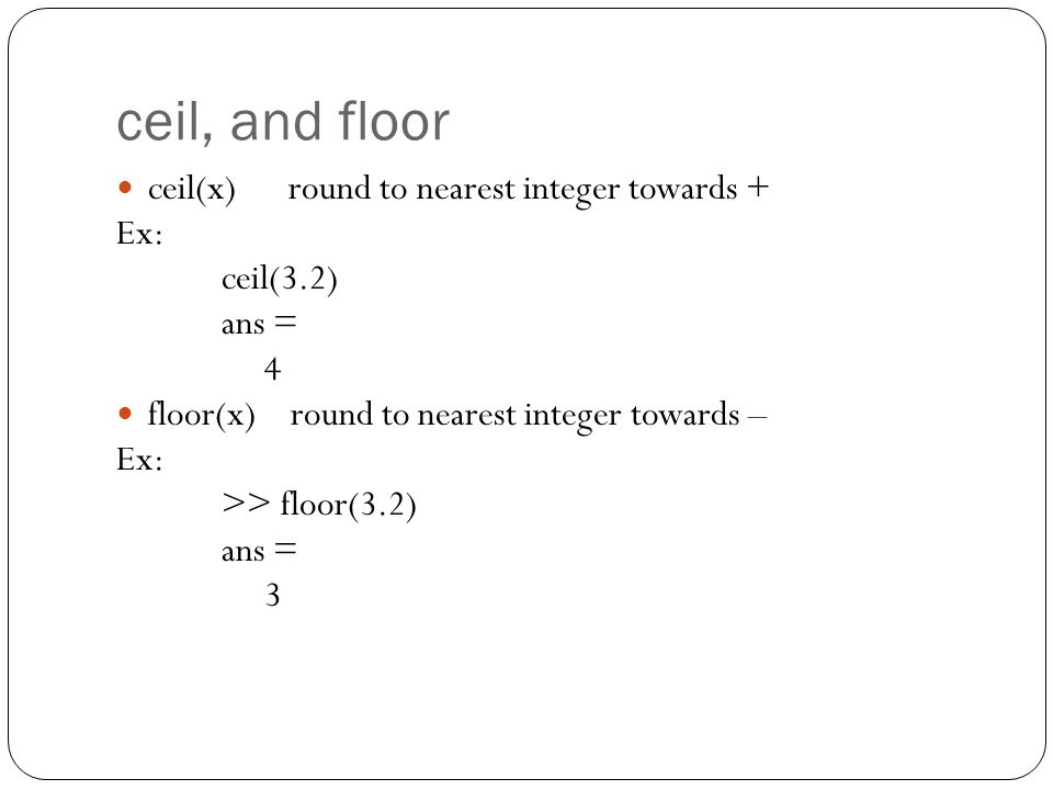 Introduction To Matlab Ppt Video Online Download