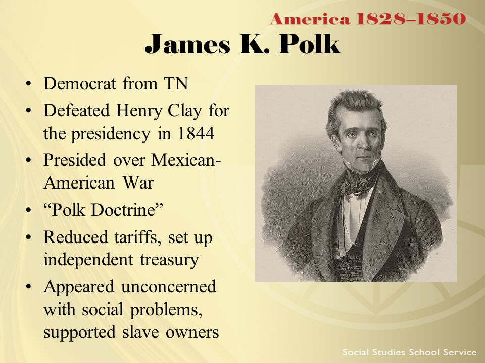 the manifest destiny by james k polk and the 1837s mexican rule over texas A destiny made manifest - part 4: james k that this was a realization of manifest destiny, men like james k polk texas would give up new mexican.