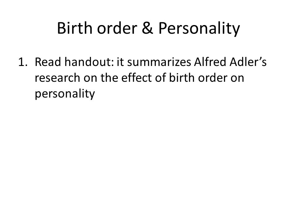 king alfred personality study Home study certificate of alfred adler was an early associate of sigmund freud in vienna but his revolutionary his real personality always seemed to say.