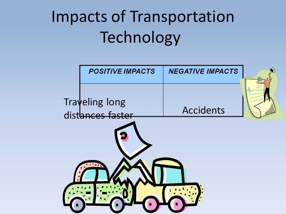 impact in transportation technology in globalisation Technology, globalization, and international replicate the fast growth experience of the countries mentioned, and traces the impact of the rise of china on developing countries large internal market that allowed broader exploitation of transportation and.