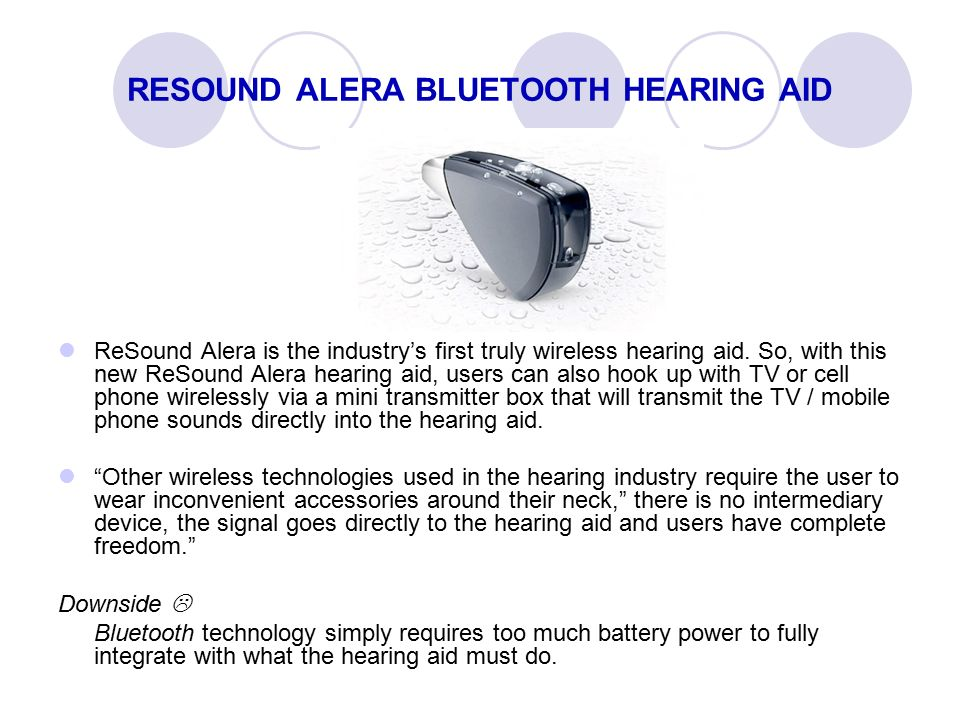 how to connect bluetooth hearing aids transmitter