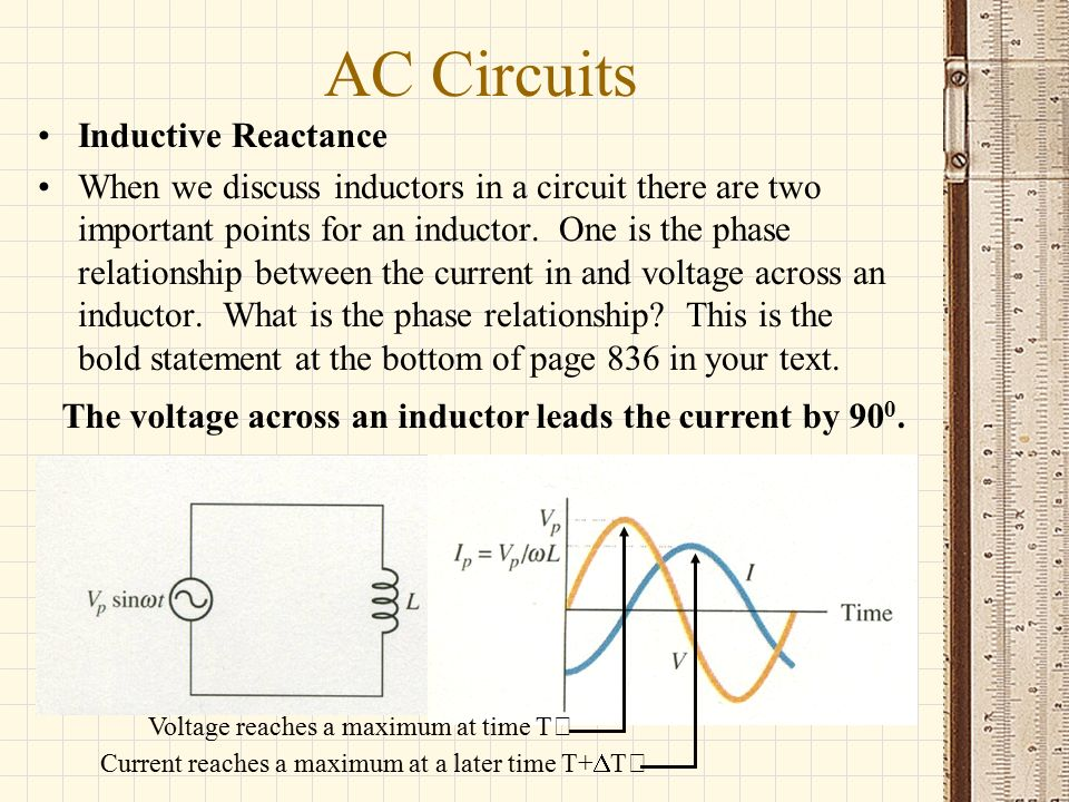 relationship between conductance and inductance