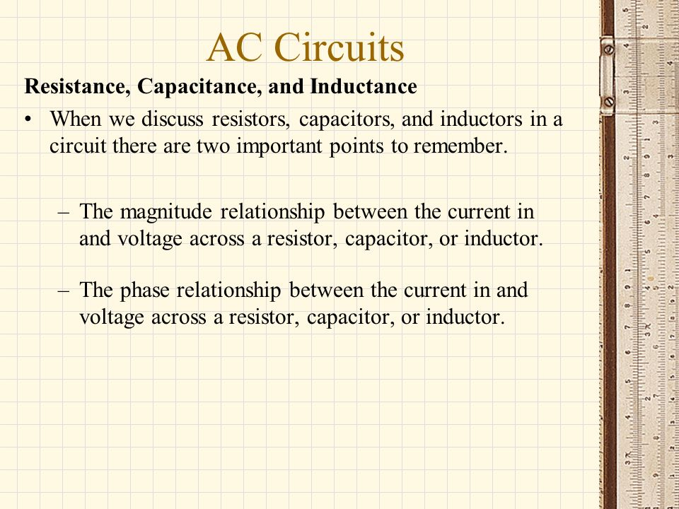 unit of capacitance and inductance relationship