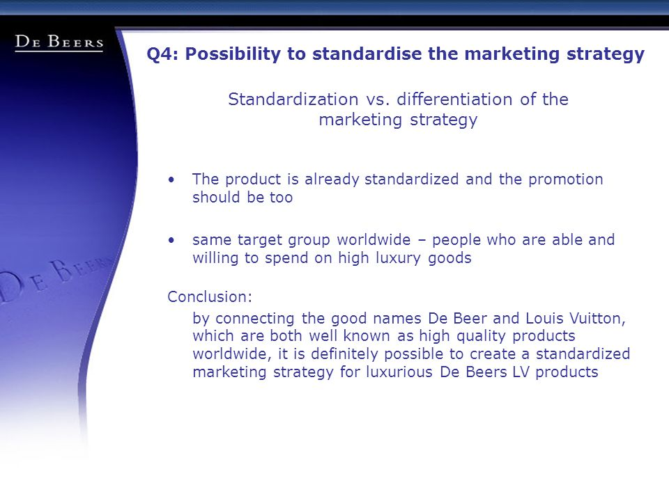 """the standardized advertising approach Standardized global marketing is an international marketing strategy for using basically the same marketing strategy and mix in all the company""""s international markets (armstrong & kotler, 2008."""