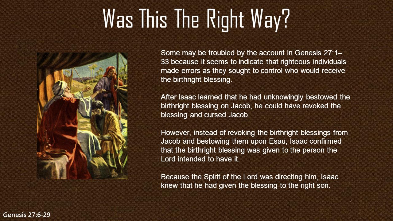 The Birthright Genesis Lesson ppt video online download