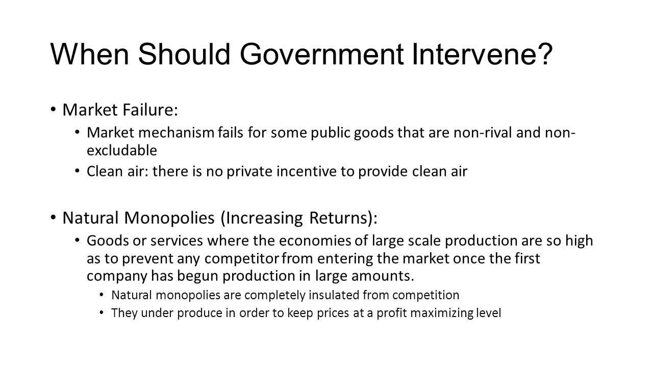 should government intervene in shaping the Reasons that justify why government should intervene in the process of international trade shaping globalization  protection of  should government intervene.