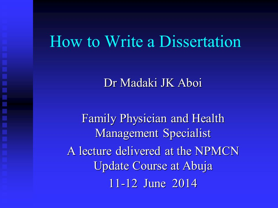 to write a dissertation The general idea: a thesis is a hypothesis or conjecture a phd dissertation is a lengthy, formal document that argues in defense of a particular thesis.