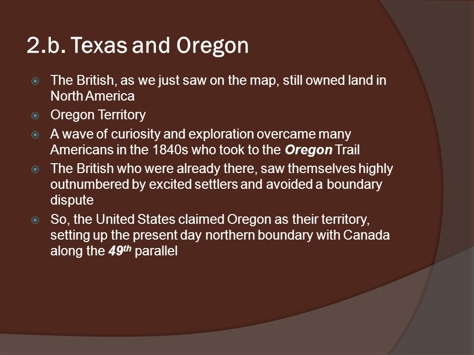 Manifest Destiny Pageant Chapter Ppt Download - Ap us history textbook american pageant manifest destiny map