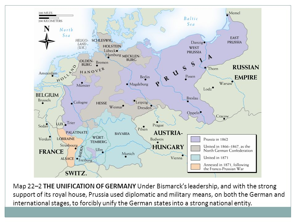 The Unification Of Germany Ppt Video Online Download - Germany unification map