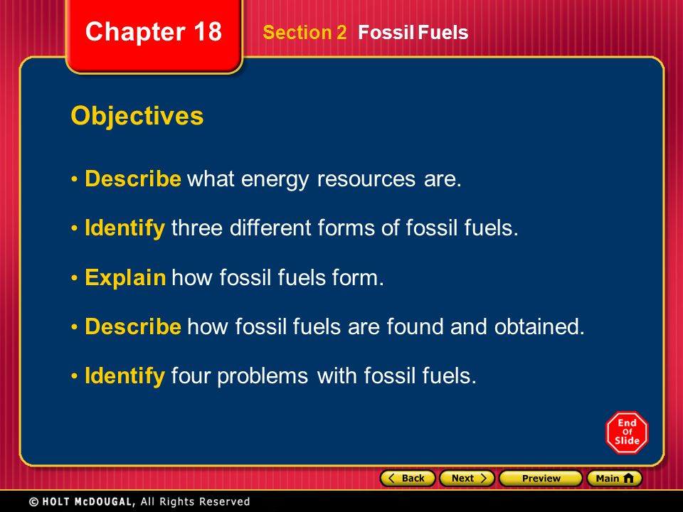 Identify Four Examples Of Natural Resources