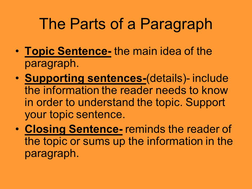 parts of an essays The different parts of the essay are like the parts of a sandwich or a burger  essays, like sandwiches or burgers, are divided into different parts these parts  are.