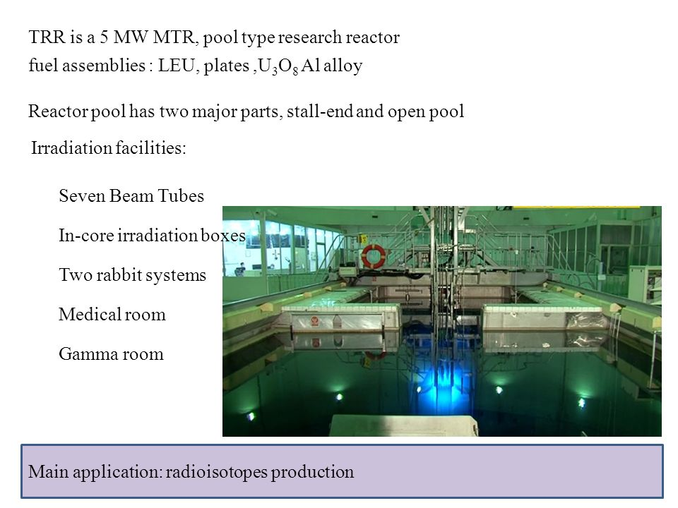Design and construction of bnct irradiation ppt video for Pool design reactor