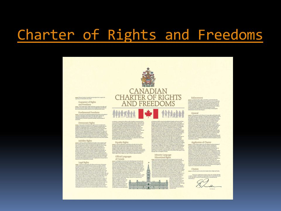 the charter of rights and freedoms pdf