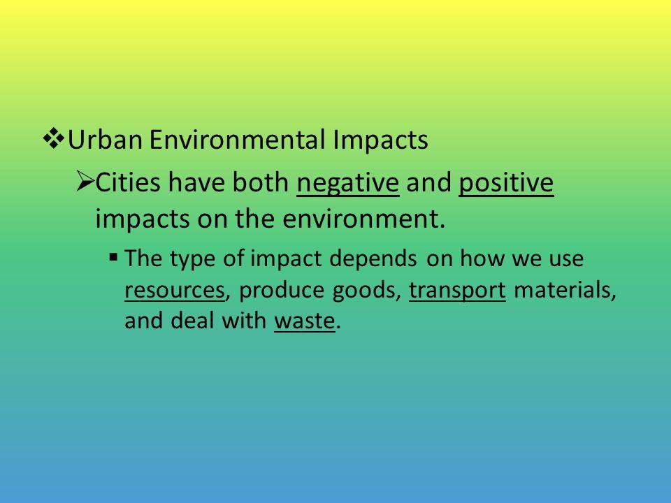 impact of urbanization on environment pdf