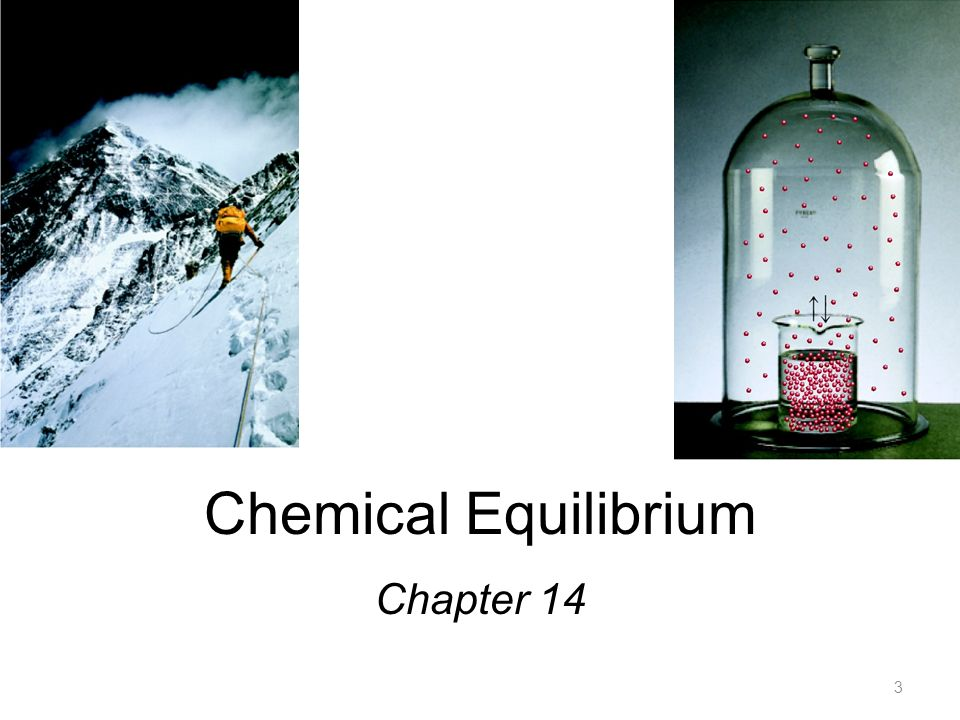 Chemical Equilibrium Chapter 14