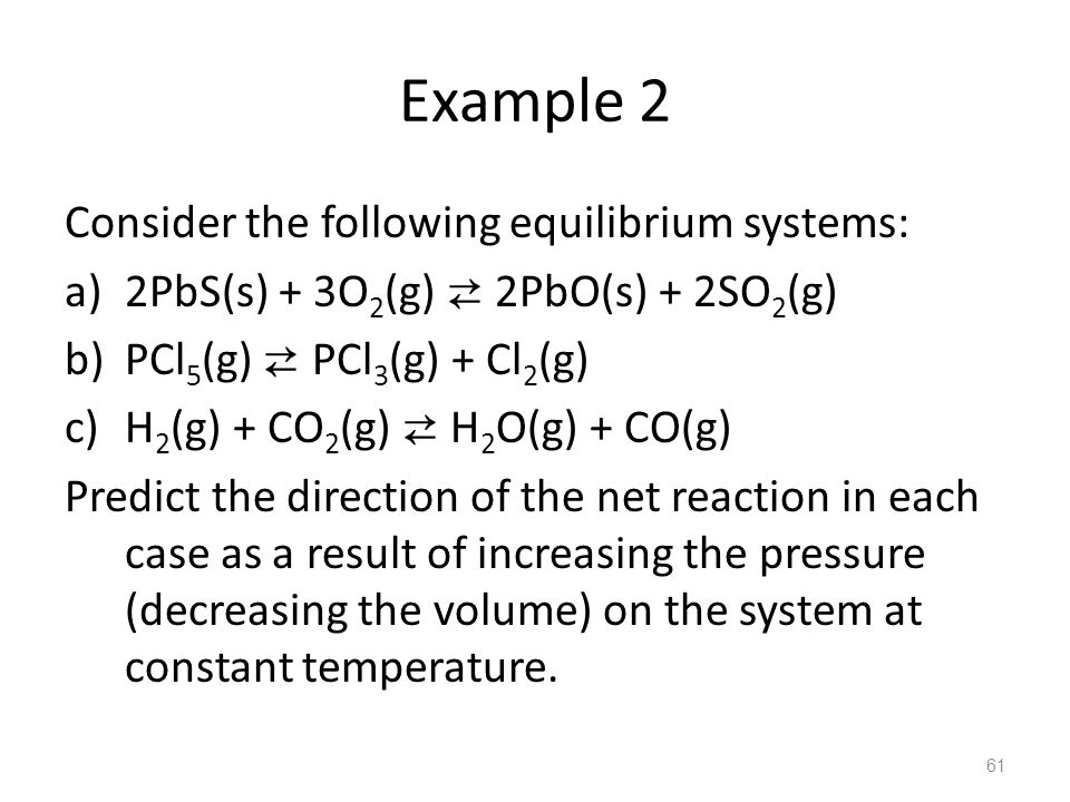 Example 2 Consider the following equilibrium systems: