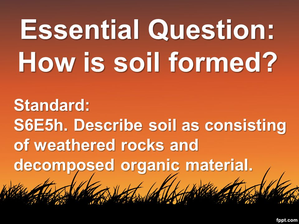 What is the composition of soil ppt download for What is soil composed of