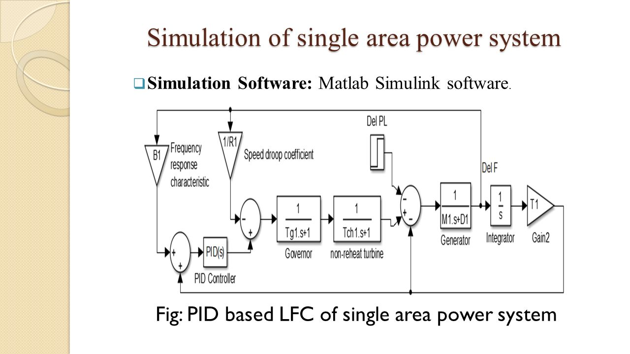 thesis on load frequency control State space based load frequency control of multi-area power systems a thesis submitted in partial fulfilment of the requirements for the degree of.