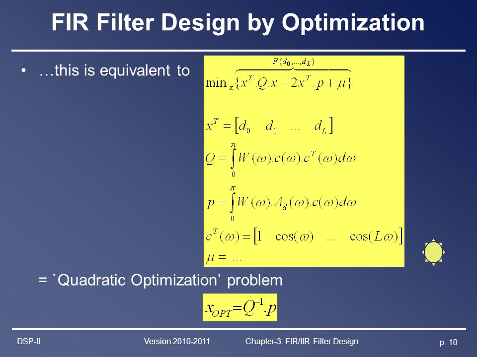 Fir filter design Essay Example - June 2019 - 2394 words