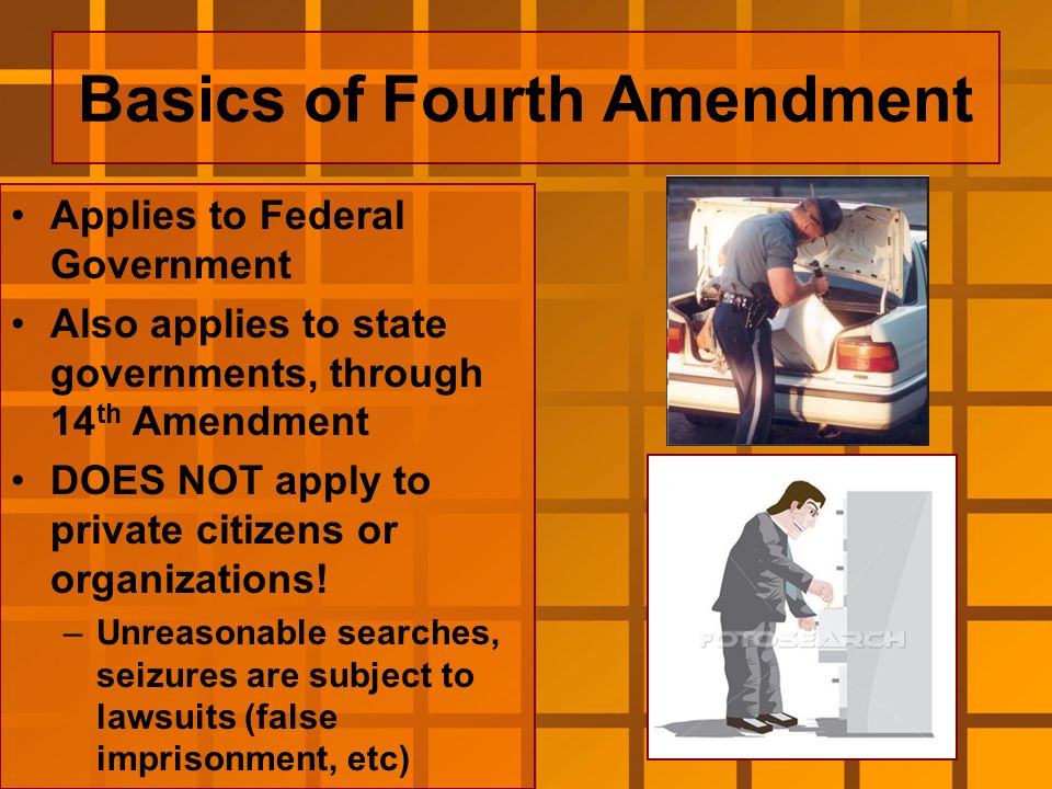 the effects of the exclusionary rule as stipulated in the us fourth amendment Exclusionary rule from weeks v united states and mapp v  houses, papers, and effects, against unreasonable  fourth amendment was ratified by the states in .