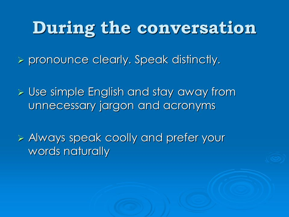 how to speak english words clearly