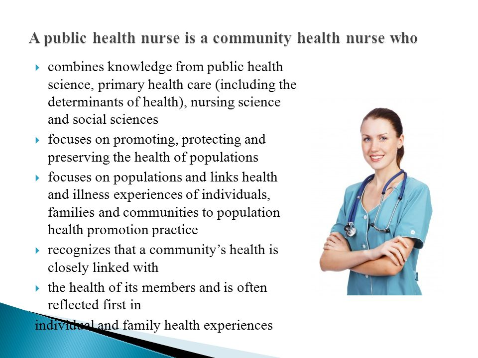 responsibility of health promotion in nursing Mental health nursing is an immensely satisfying career providing the opportunity to specialise in areas such as child and adolescent mental health,.