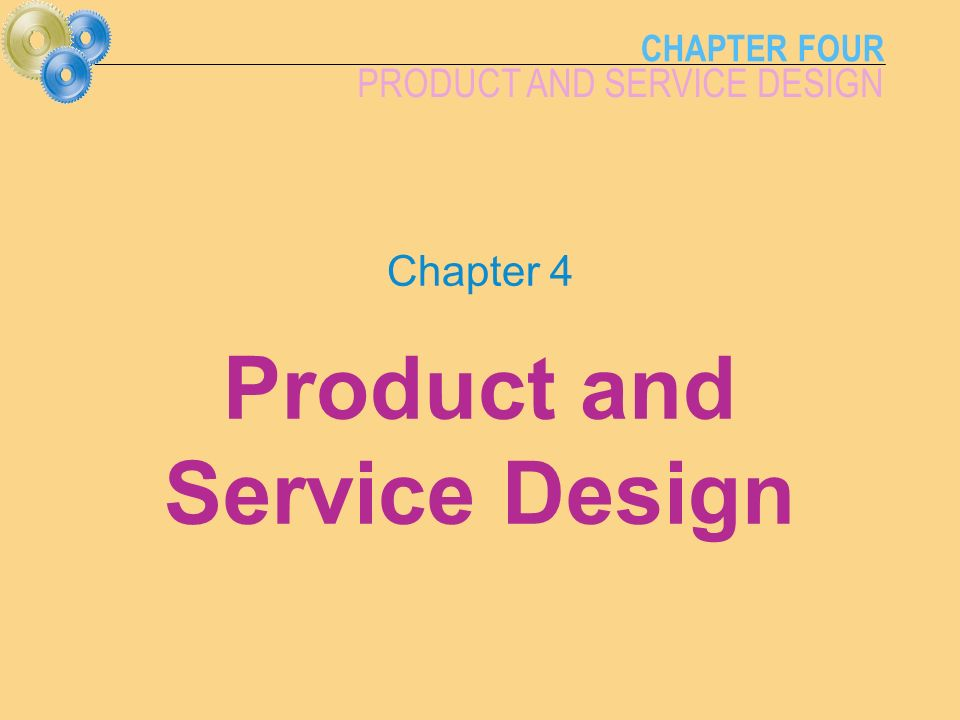 Design of production systems ppt video online download for Product service design